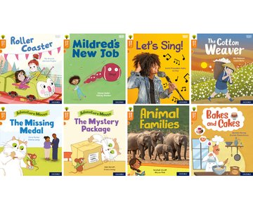 Oxford Reading Tree Word Sparks: Level 6: Mixed Pack of 8