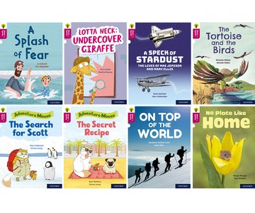 Oxford Reading Tree Word Sparks: Level 10: Mixed Pack of 8
