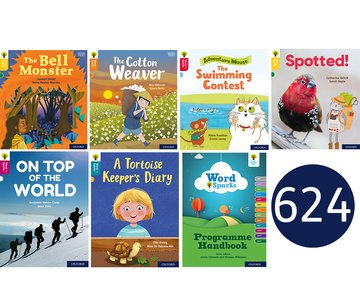 Oxford Reading Tree Word Sparks: Levels 1-12: Super Easy Buy Pack