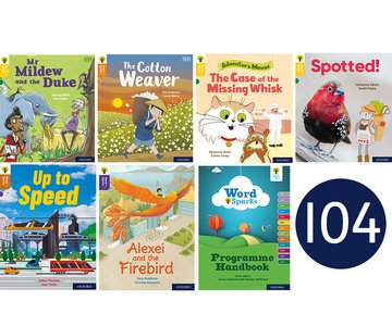 Oxford Reading Tree Word Sparks: Levels 1-12: Singles Pack