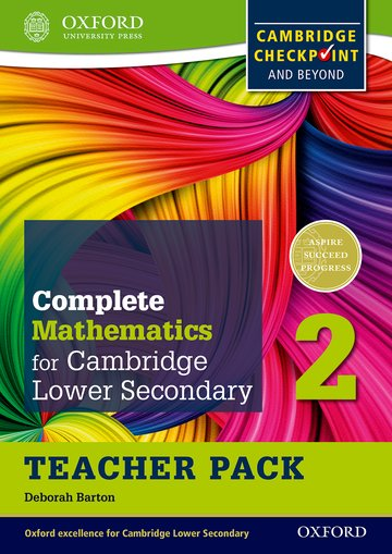 Complete Mathematics for Cambridge Lower Secondary Teacher Pack 2