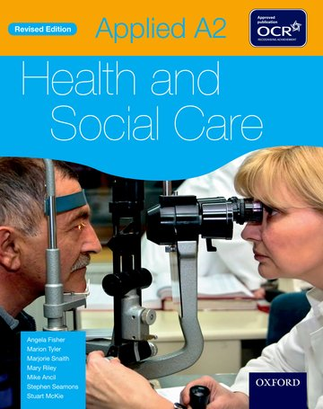 Applied A2 Health  Social Care Student Book for OCR