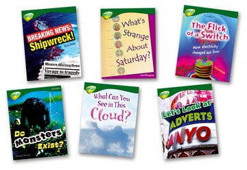 Oxford Reading Tree: Level 12: Treetops Non-Fiction: Pack (6 books, 1 of each title)
