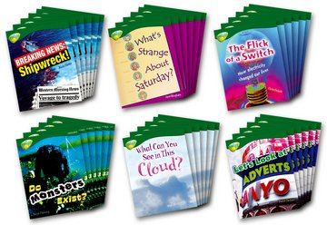 Oxford Reading Tree: Level 12: Treetops Non-Fiction: Pack (36 books, 6 of each title)