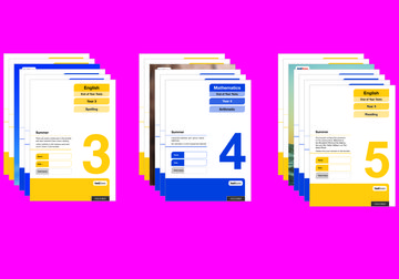 Oxford National Curriculum Tests: End of Year Tests (Years 3-5) Easy Buy Pack