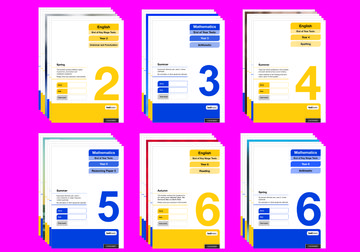 Oxford National Curriculum Tests: Complete Tests (Years 2-6) Super Easy Buy Pack