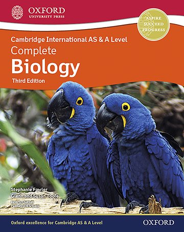 Cambridge International AS  A Level Complete Biology