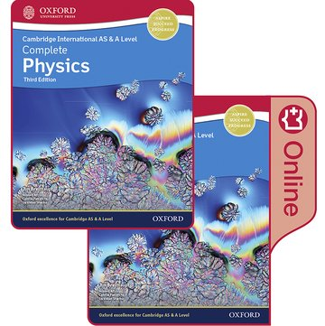 Cambridge International AS  A Level Complete Physics Enhanced Online  Print Student Book Pack