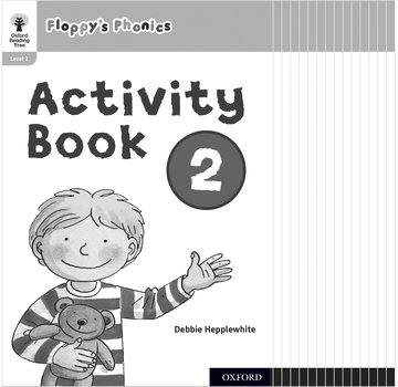 Oxford Reading Tree: Floppy's Phonics: Activity Book 2 Class Pack of 15