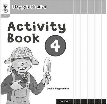 Oxford Reading Tree: Floppy's Phonics: Activity Book 4 Class Pack of 15