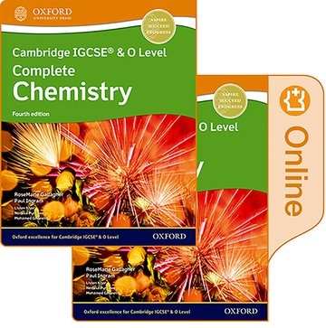 Cambridge IGCSE  O Level Complete Chemistry: Print and Enhanced Online Student Book Pack Fourth Edition