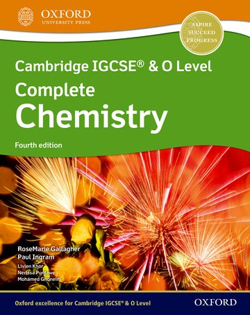 Cambridge IGCSE  O Level Complete Chemistry: Student Book Fourth Edition