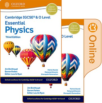 Cambridge IGCSE  O Level Essential Physics: Print and Enhanced Online Student Book Pack Third Edition
