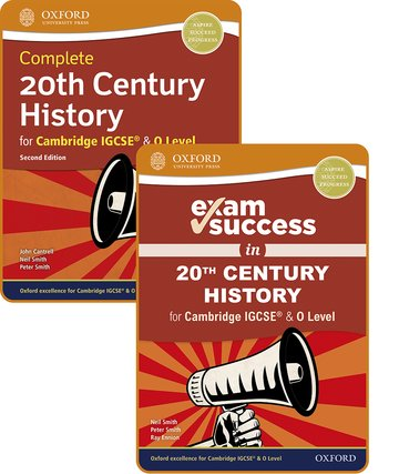 Complete 20th Century History for Cambridge IGCSE  O Level: Student Book  Exam Success Guide Pack