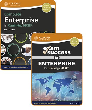 Complete Enterprise for Cambridge IGCSE: Student Book  Exam Success Guide Pack