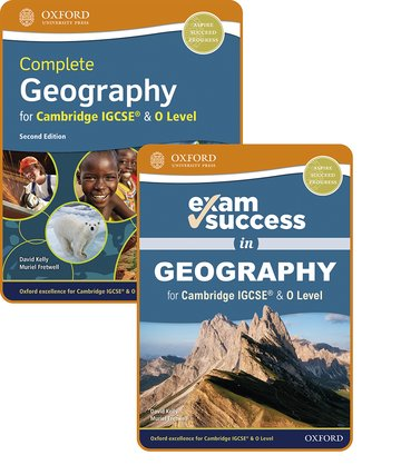 Complete Geography for Cambridge IGCSE  O Level: Student Book  Exam Success Guide Pack