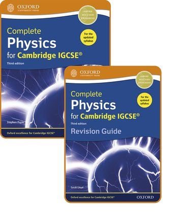 Complete Physics for Cambridge IGCSE: Student Book  Revision Guide Pack