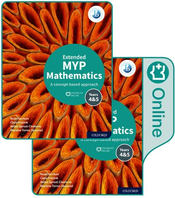 MYP Mathematics 45 Extended Print and Enhanced Online Book Pack