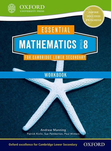 Essential Mathematics for Cambridge Lower Secondary Stage 8 Workbook