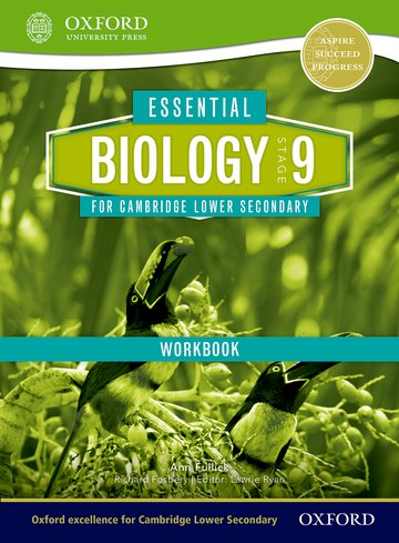 Essential Biology for Cambridge Lower Secondary Stage 9 Workbook