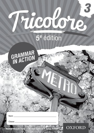 Tricolore Grammar in Action 3 (8 pack)