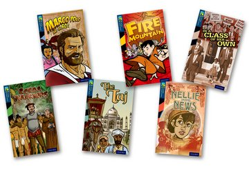 Oxford Reading Tree TreeTops Graphic Novels: Level 14: Pack of 6