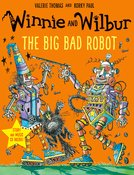 Winnie and Wilbur: The Big Bad Robot with audio CD