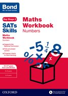 Bond SATs Skills: Maths Workbook: Numbers 10-11 Years Pack of 15