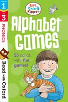 Read with Oxford: Stages 1-3: Biff, Chip and Kipper: Alphabet Games Flashcards