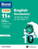 Bond 11+: CEM Vocabulary 10 Minute Tests
