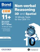 Bond 11+: CEM 3D Non-Verbal Reasoning 10 Minute Tests