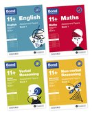 Bond 11+ English, Maths, Verbal Reasoning, Non Verbal Reasoning: Assessment Papers