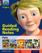 Project X Origins: Red Book Band, Oxford Level 2: Pets: Guided reading notes
