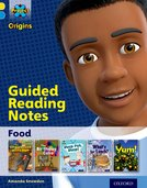 Project X Origins: Yellow Book Band, Oxford Level 3: Food: Guided reading notes