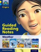 Project X Origins: Yellow Book Band, Oxford Level 3: Weather: Guided reading notes