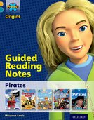 Project X Origins: Gold Book Band, Oxford Level 9: Pirates: Guided reading notes