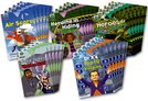 Project X Origins: Brown Book Band, Oxford Level 11: Heroes and Villains: Class Pack of 30