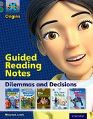 Project X Origins: Grey Book Band, Oxford Level 12: Dilemmas and Decisions: Guided reading notes