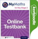 MyMaths for Key Stage 3: Online Testbank