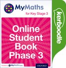 MyMaths for Key Stage 3: Online Student Book Phase 3