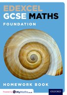 Edexcel GCSE Maths Foundation Homework Book