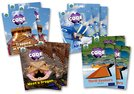 Project X CODE <i>Extra</i>: Light Blue Book Band, Oxford Level 4: Dragon Quest and Wild Rides, Class pack of 12