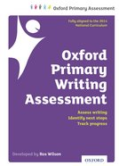 Oxford Primary Writing Assessment Handbook