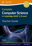 Complete Computer Science for Cambridge IGCSE® & O Level Teacher Guide