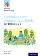 Nelson Handwriting: Year 3-4/Primary 4-5: Resources and Assessment Book for Books 3 and 4