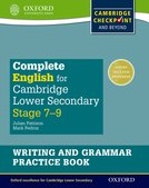 Complete English for Cambridge Lower Secondary Writing and Grammar Practice Book