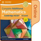 Complete Additional Mathematics for Cambridge IGCSE®  & O Level Online Book