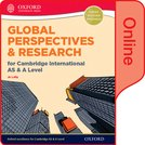 Global Perspectives and Research for Cambridge International AS  A Level Online Book