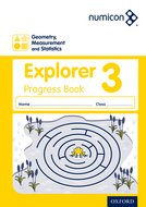 Numicon: Geometry, Measurement and Statistics 3 Explorer Progress Book (Pack of 30)
