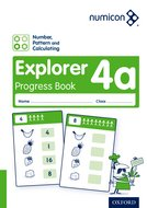 Numicon: Number, Pattern and Calculating 4 Explorer Progress Book A (Pack of 30)